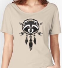 Raccoon Catcher Women's Relaxed Fit T-Shirt