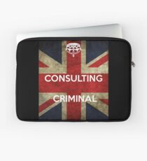 consulting criminal Laptop Sleeve