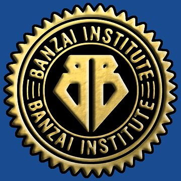 Buckaroo Banzai Institute Gear Logo Gold Seal by Hedrin