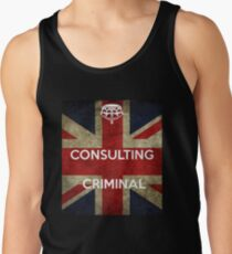 consulting criminal Tank Top
