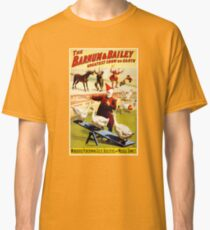 Barnum and Bailey Vintage Circus Poster Classic T-Shirt