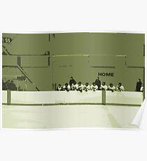 High School Hockey 101 Green - 3 Poster