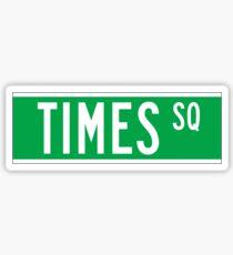 Pegatina Times Sq., New York Street Sign, Estados Unidos