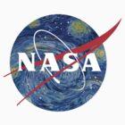 NASA starry night by nicomcgill