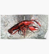 One Crawfish Poster