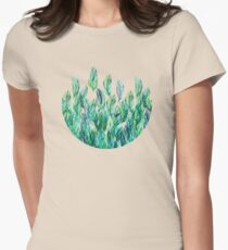 Jungle Rising Womens Fitted T-Shirt