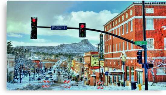 After A Snowstorm In Prescott Arizona  by K D Graves Photography
