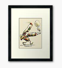 Cigarettes Kill Framed Print