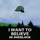 I Want To Believe In Sherlock by flyingpantaloon