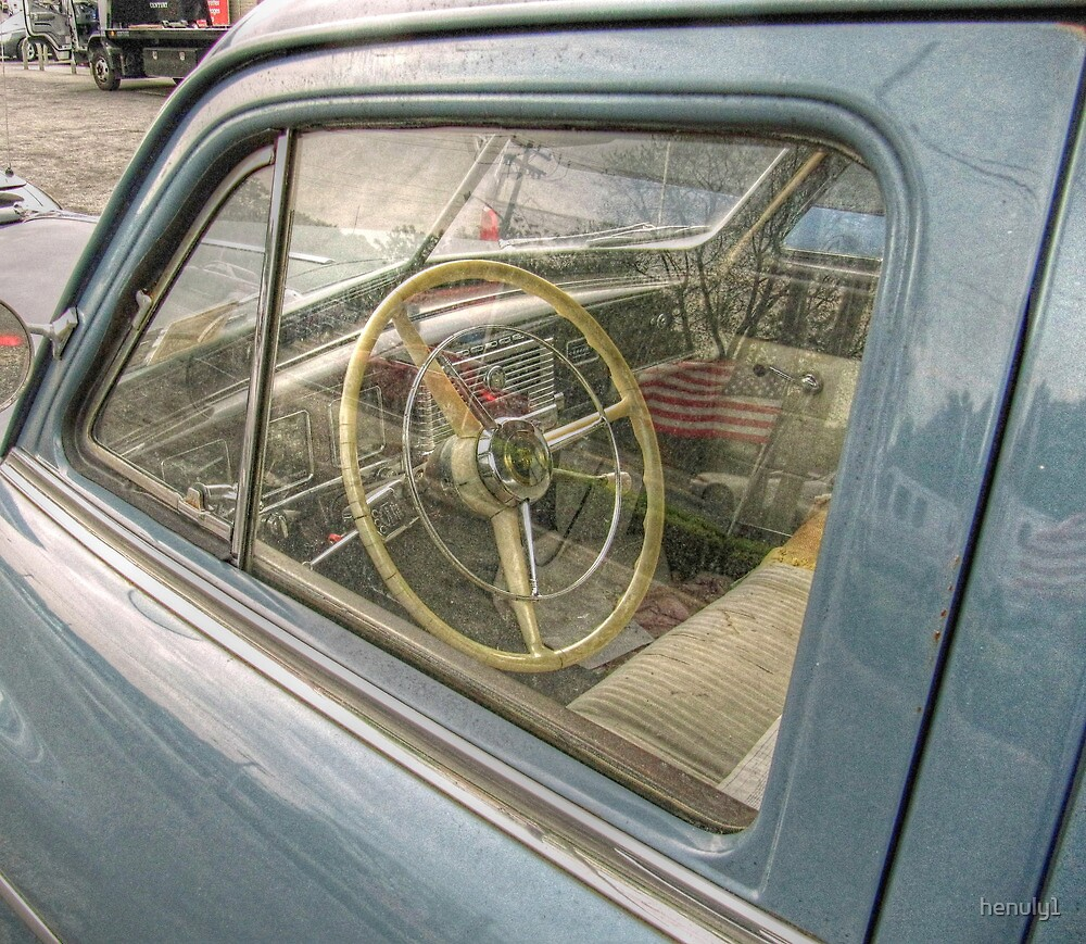 inside of a 1959 dodge by henuly1