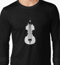sherlock violin big ben Long Sleeve T-Shirt