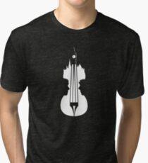sherlock violin big ben Tri-blend T-Shirt