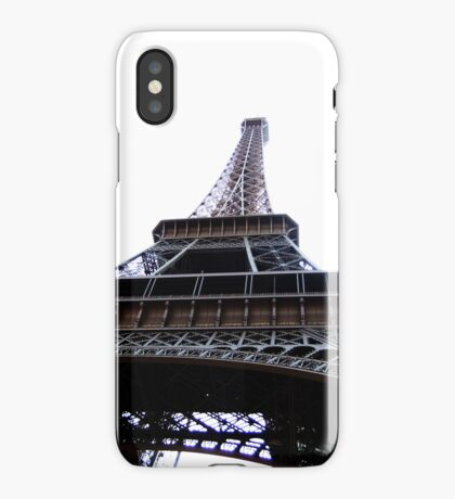 Eiffel Tower white iPhone Case