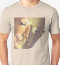 Gold Reclining Buddha Unisex T-Shirt