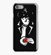 sherlock rubik cube iPhone Case/Skin