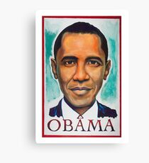 Obama Canvas Print