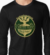 I enjoyed my stay at Schrute Farms (Green) Long Sleeve T-Shirt