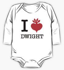I Beet Dwight  One Piece - Long Sleeve