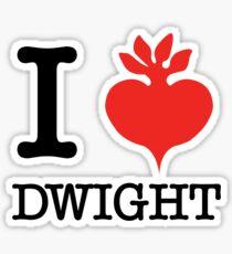 I Beet Dwight  Sticker