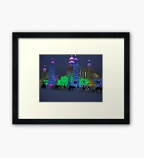 Ice and Snow World Framed Print