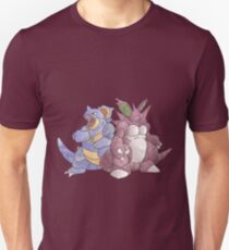Beech Collection - Nidoking and Nidoqueen T-Shirt