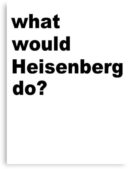 Heisenberg by silentstead