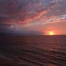 Sunset with Clouds - Puesta del Sol con Nubes by PtoVallartaMex