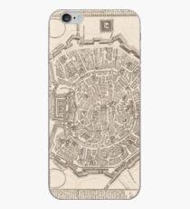 Milan Old Map iPhone Case