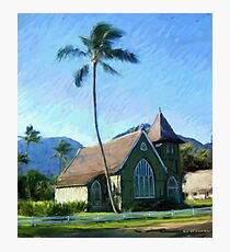Kauai Church Photographic Print