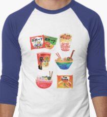 Ramen Men's Baseball ¾ T-Shirt