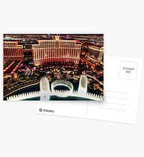 The Bellagio Fountains Postcards