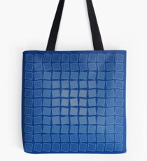 Blue Quake Tote Bag