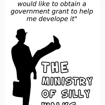 The Ministry of Silly Walks 1 by TheDodoDevil