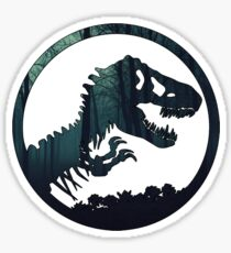 Jurassic Forest Sticker