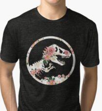 Jurassic Floral Tri-blend T-Shirt