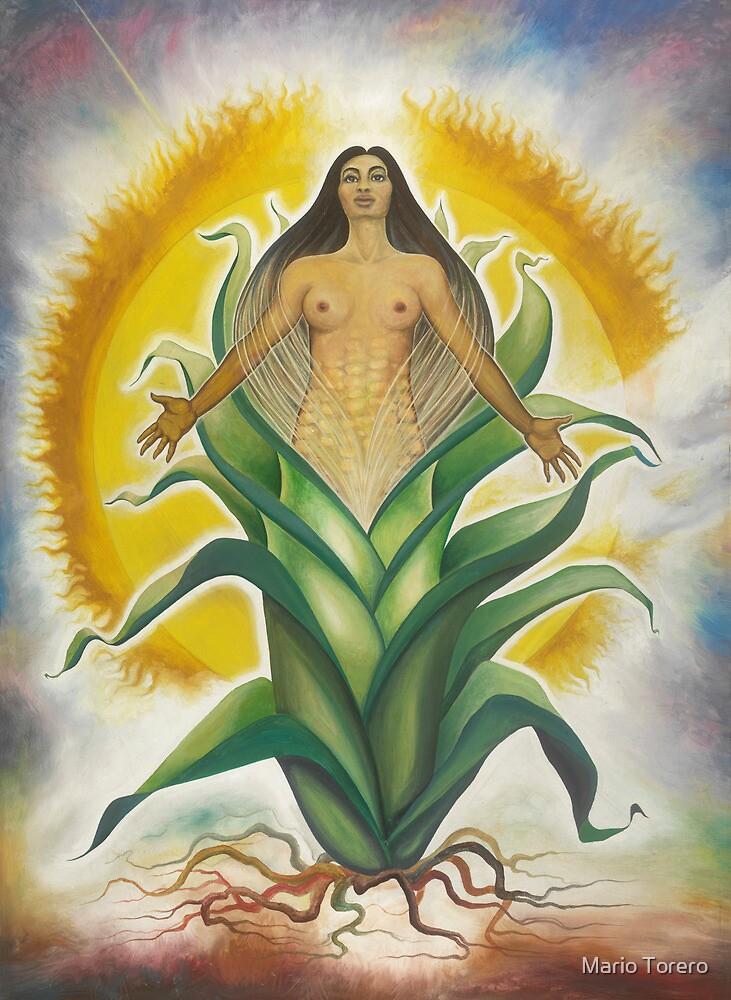 Corn Goddess by Mario Torero