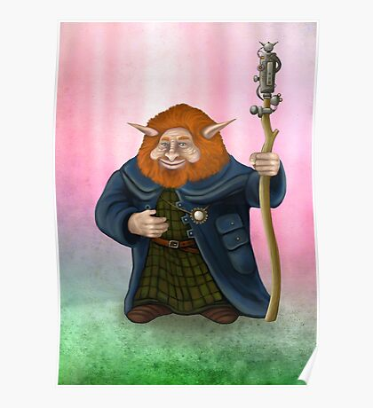 Gwildor of Thenur, locksmith and inventor Poster
