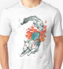 Watercolor Okami T-Shirt