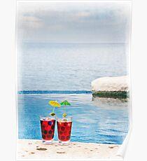 Agua de Jamaica Poster