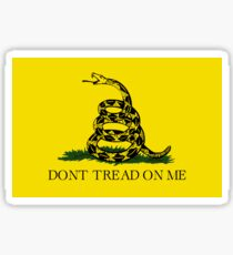 The Gadsden Flag - Don't Tread On Me Sticker