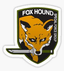 Fox Hound Special Force Group Sticker