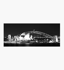 Sydney Harbour and Opera House Photographic Print