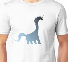 Unicorn Brachiosaurus Unisex T-Shirt