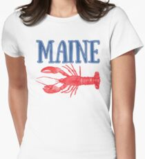 Maine Watercolor Lobster - Maine Lobster T-Shirt