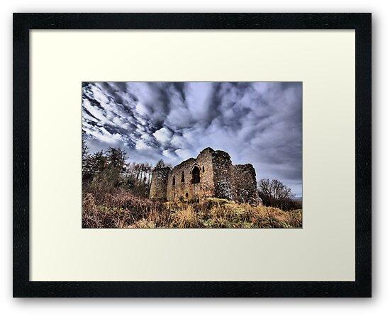 Rait Castle by R Outram