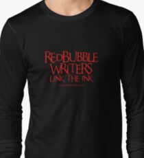 RB Writers shirt (red text) Long Sleeve T-Shirt