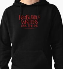 RB Writers shirt (red text) Pullover Hoodie