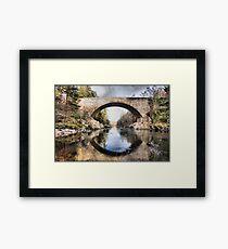 Over Findhorn Framed Print