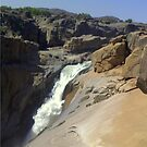 Augrabies Waterfall in the Orange River by Irene  van Vuuren