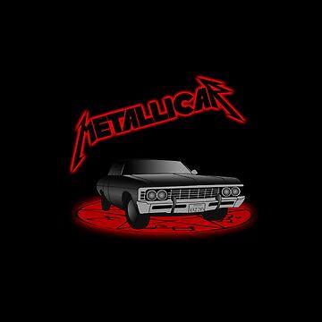 Supernatural - Metallicar by FoxRiver